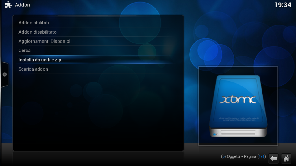 XBMC AddOn